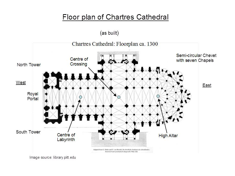 Chartres floor plan