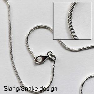 Ketting - Slang-design