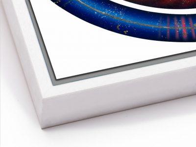 Aura Healer - Dibond with white tray frame